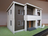 木の住まいづくり研究所にある住宅模型 その8