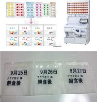薬の一包化(服用日印字)について
