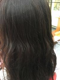 嫁の髪で実験…ヽ(*^ω^*)ノ