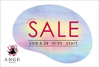 2018春夏物セールのおしらせ☆