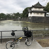 ブロンプトン 東京 皇居一周