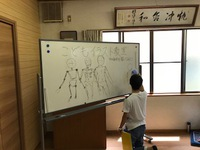 こどもイラスト教室 第2回 身体を描いてみよう