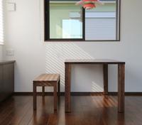 静岡県磐田市S様邸「ウォールナットでシンプルモダンな空間に」