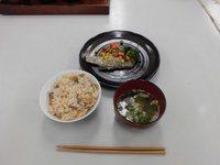 2017年11月18日(土) 料理教室開催(五目御飯と白身魚のミニエルとお味噌汁)