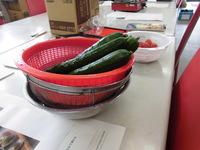 2017年7月22日(土)料理教室:女性陣の冷やしそうめんつくり♪