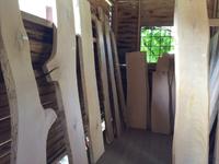 森とマルシェ 板並べました。