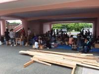 「建築組合 木工教室」
