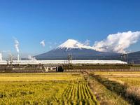 今朝の富士山 12月18日