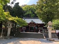 伊豆山神社様にお参りさせていただきました!