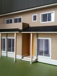 住宅模型完成