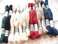 台風迫るなか、刺繍糸の買い出しへ