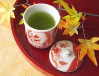 秋のお茶とスイーツお目見えです