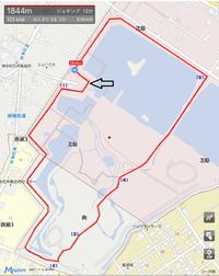 静岡市【麻機遊水地クロスカントリーコース】のご紹介
