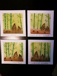 パステルアート教室(竹の子)