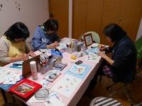 パステルアート教室(こいのぼり)2