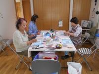 パステルアート教室(紫陽花)